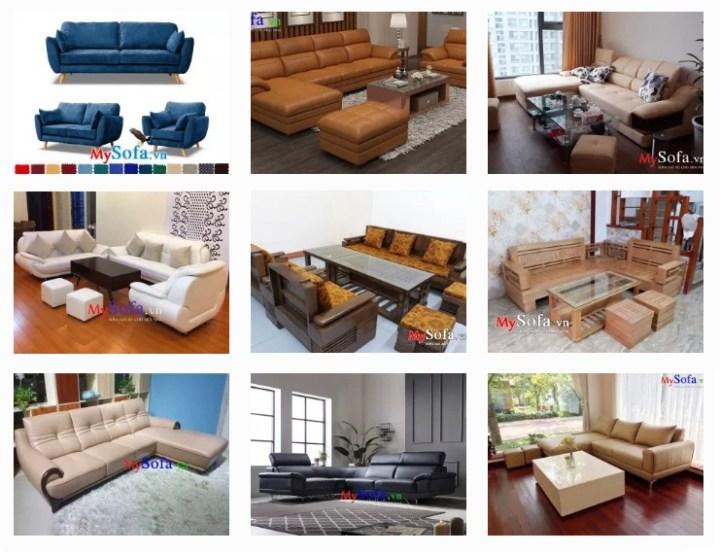 ghế sofa phòng khách đẹp giá rẻ