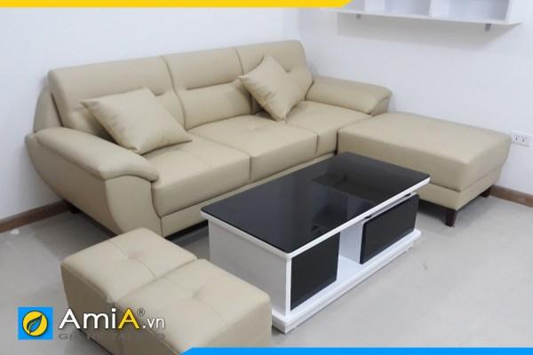 Bộ ghế sofa cho phòng khách chung cư AmiA SFD237