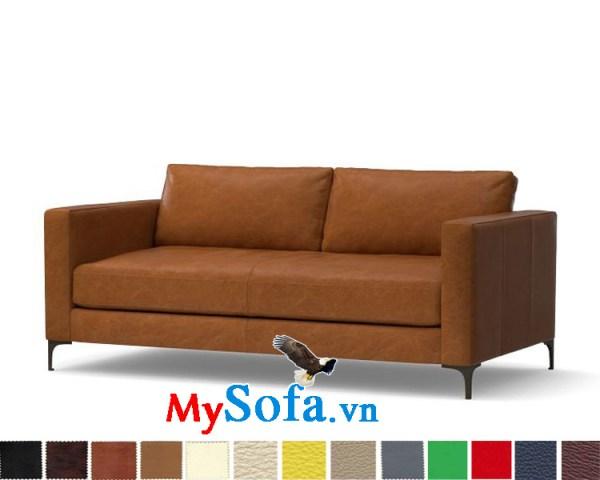 Ghế sofa da dạng văng đẹp cho phòng rộng lớn