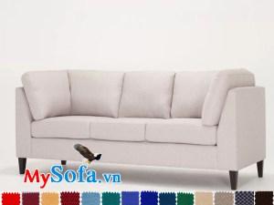 Ghế sofa nỉ văng đẹp sang trọng cho nhà chung cư