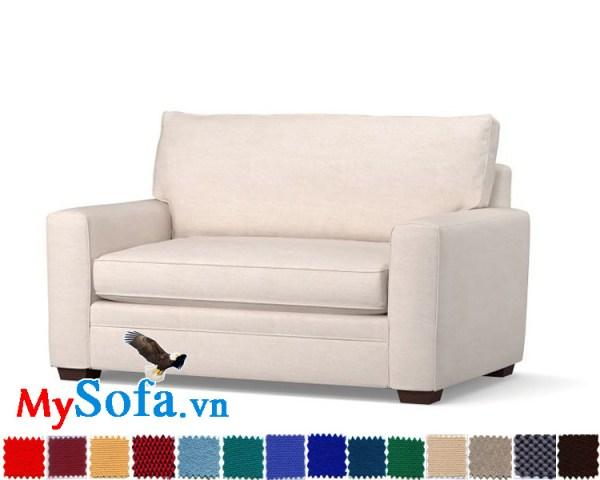 Ghế sofa văng dài mini đẹp cho phòng nhỏ hẹp
