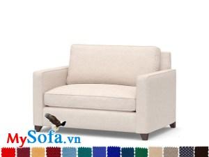 Ghế sofa văng đơn đẹp hiện đại cho phòng nhỏ xinh