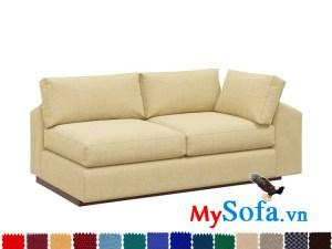 sofa đẹp thiết kế một tay vịn cực hiện đại mys 0619319