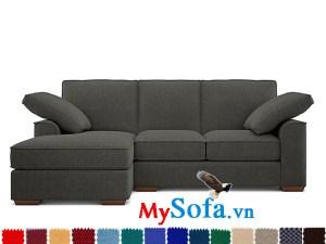 mẫu sofa góc chữ L màu sắc tinh tế MyS 0619337 có thiết kế chắn chắn và khá gọn nhẹ