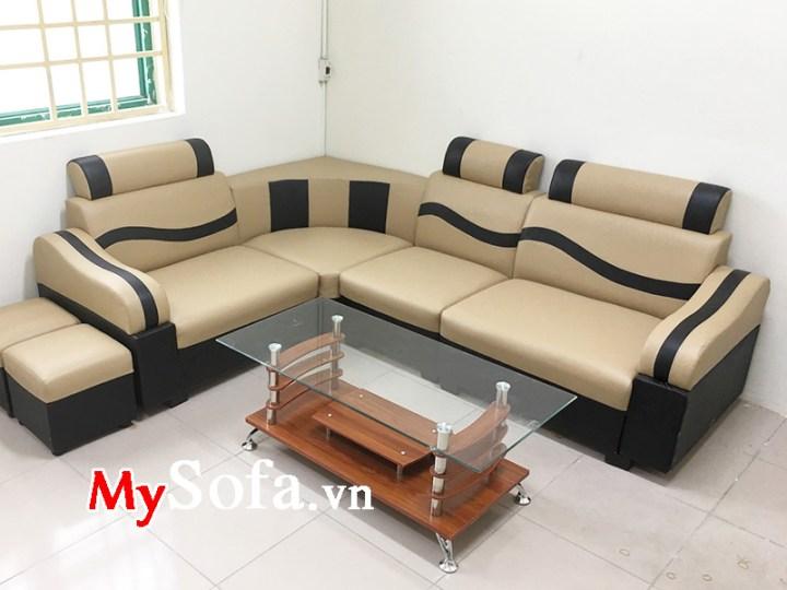 Bàn ghế sofa phòng khách chung cư giá rẻ