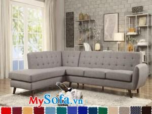 mẫu sofa góc mys 0619278 thiết kế mở