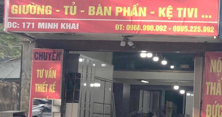 Cửa hàng nội thất Đức Nhân 171 Minh Khai