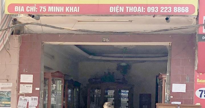 cửa hàng nội thất Minh Tú 75 Minh Khai