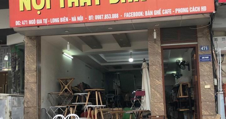 Cửa hàng bàn ghế nội thất Bar Cafe 471 Ngô Gia Tự