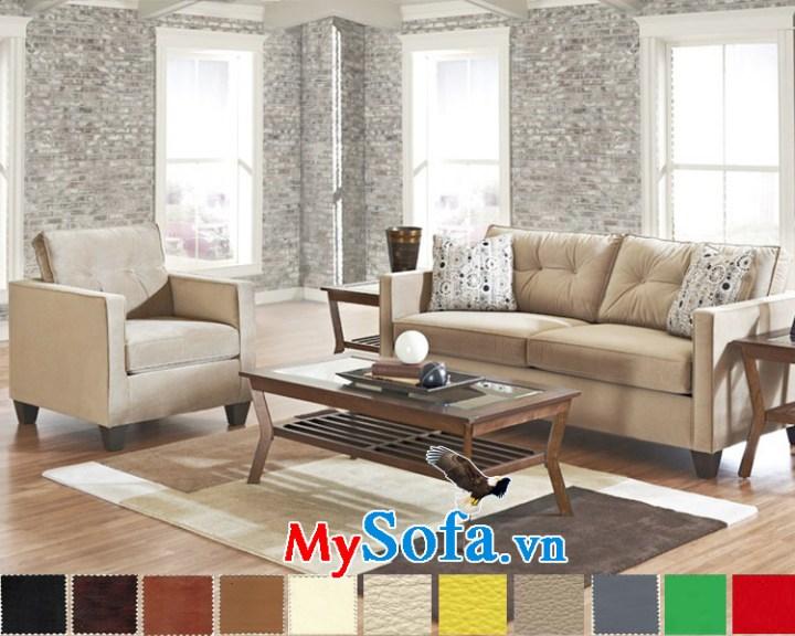 Bộ ghế sô pha cho phòng khách nhỏ MyS-1910850