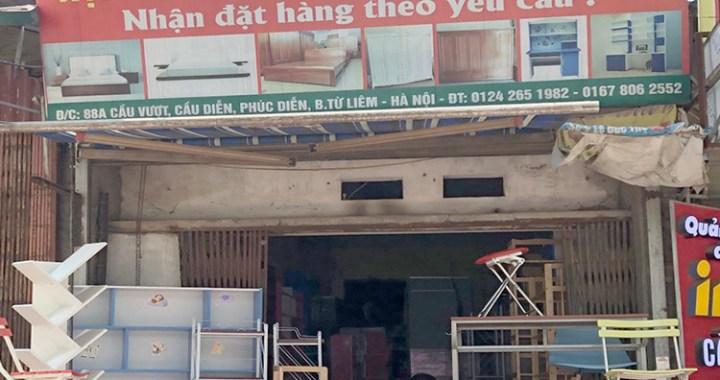 Cửa hàng nội thất GĐ & VP Phương Vy 88A Cầu Vượt - Từ Liêm