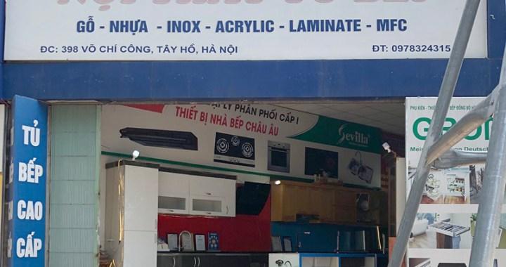 Cửa hàng nội thất tủ bếp Hồng Phong 398 Võ Chí Công