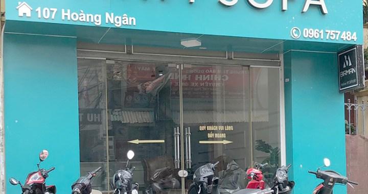 cửa hàng nội thất Vinh Sofa 107 Hoàng Ngân