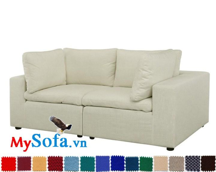 Ghế sofa văng đôi nhỏ gọn, tiện lợi