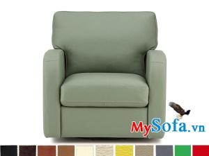 sofa đơn chất liệu da nhỏ xinh MyS-1910866