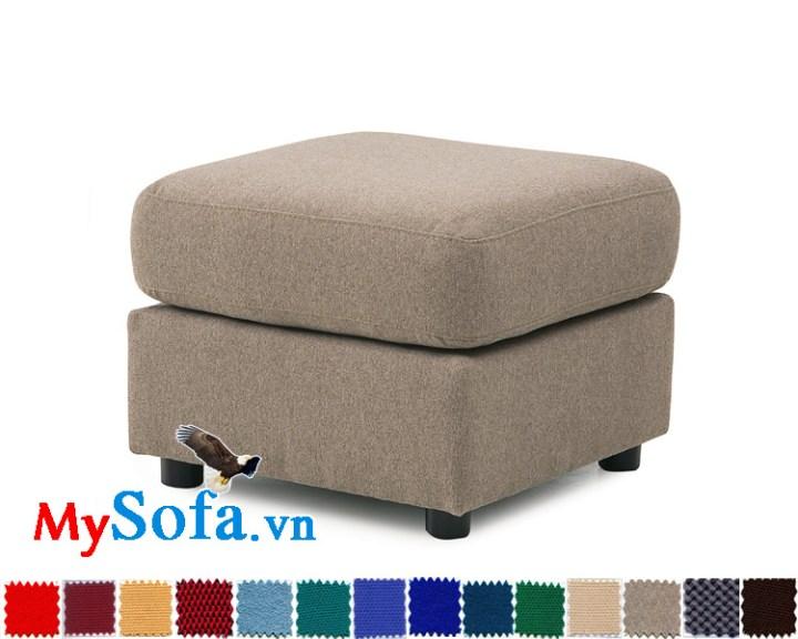 Ghế sofa đôn chất nỉ hiện đại MyS-1910861