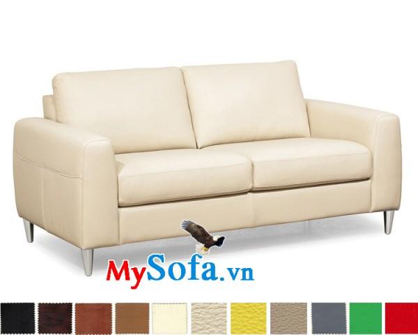 Ghế sofa văng màu trắng sữa đẹp MyS-1910856