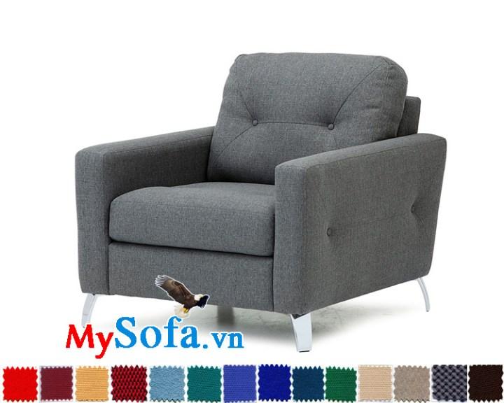 Mẫu sofa đơn phòng ngủ đẹp MyS-1910831