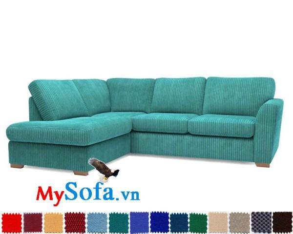 Sofa góc chất liệu nỉ bền đẹp MyS-1910878