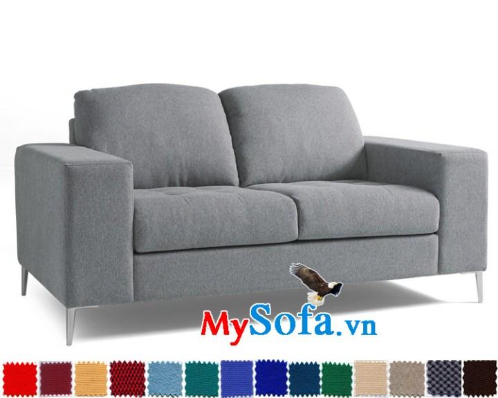 sofa văng 2 chỗ chất liệu nỉ đẹp và sang MyS-1910822