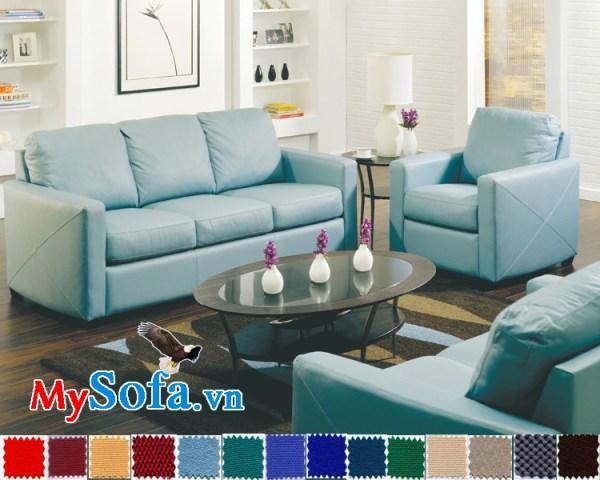 Ghế sofa văng dạng nỉ đẹp