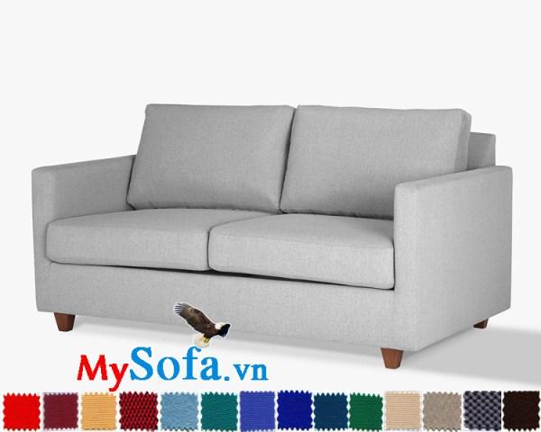 Ghế sofa văng 2 chỗ ngồi chân gỗ thấp MyS-1911532