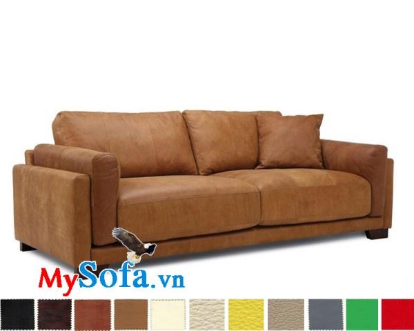 Ghế sofa văng da bò đẹp MyS-1911919
