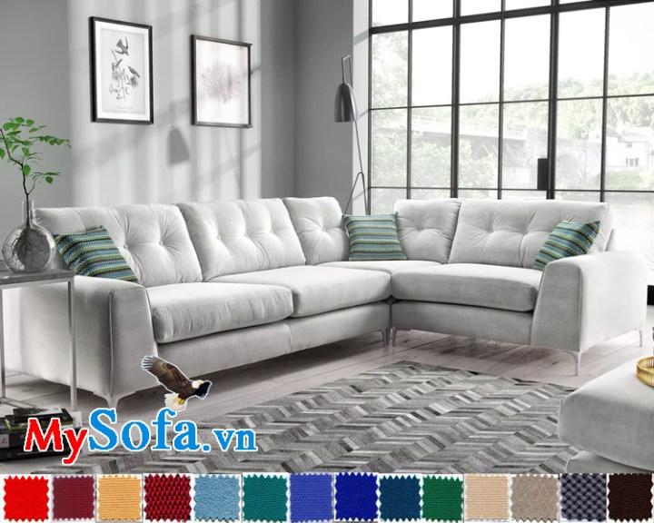 sofa góc L cho biệt thự rộng và sang MyS-1911594