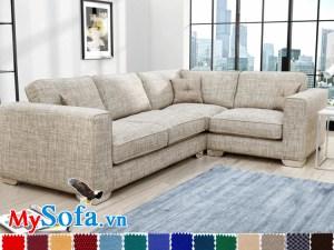 sofa góc L đẹp cho phòng khách chung cư MyS-1911590
