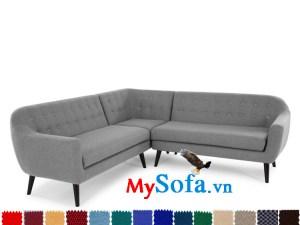 sofa góc chữ V MyS-1910645 đẹp không nên bỏ qua
