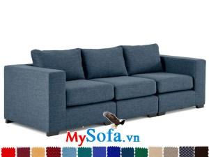 sofa văng chất nỉ giá rẻ MyS-1910630