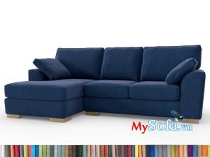 bộ sofa góc màu xanh navy MyS-1911686 hiện đại