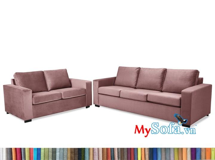 Bộ sofa phòng khách nỉ trẻ trung MyS-1912527