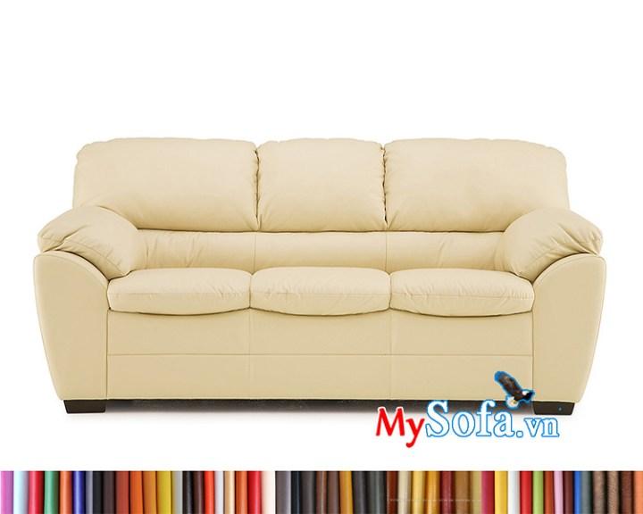 ghế sofa da MyS-1912401 cho phòng khách sang trọng