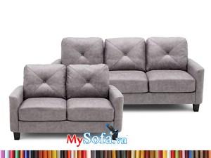 MyS-1912170 bộ ghế sofa da văng mini