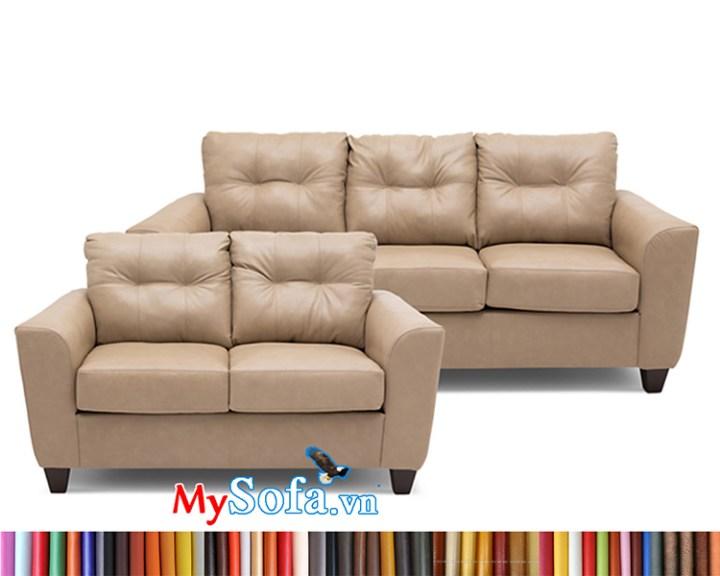 MyS-1912178 bộ ghế sofa văng da