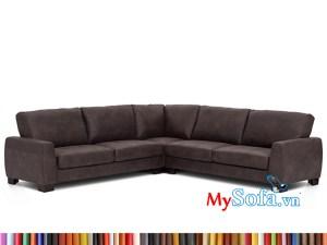 MyS-1912202 mẫu ghế sofa da góc đẹp