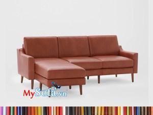 MyS-1912299 Mẫu ghế sofa da góc đẹp