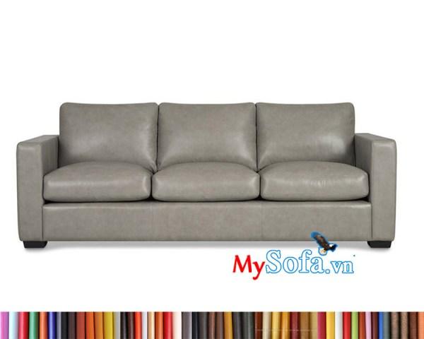 sofa da MyS-1912434 kê phòng khách đẹp