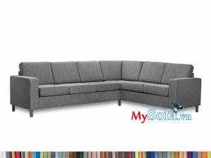 Bộ sofa góc chất nỉ MyS-1912347 hiện đại