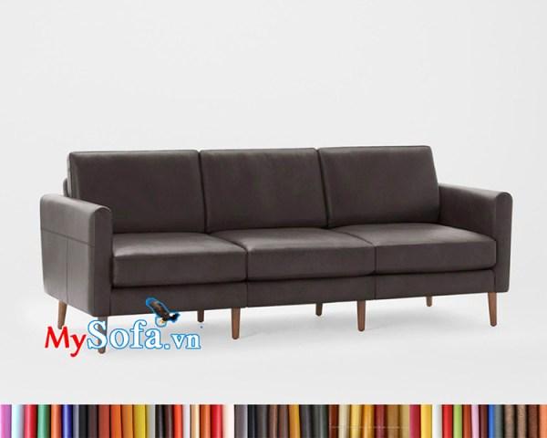 Ghế sofa văng dài MyS-1912310 bọc da sang trọng