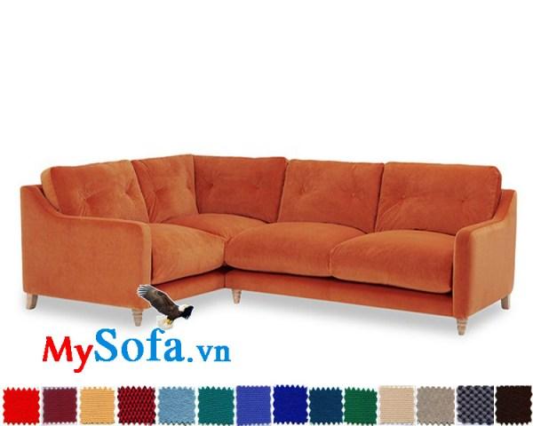 MyS-20011011 ghế sofa nỉ kiểu dáng nhỏ xinh