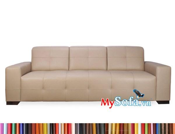 MyS-2001999 ghế sofa văng dài màu hồng phấn