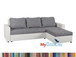 MyS-2001858 Mẫu ghế sofa nỉ góc đẹp