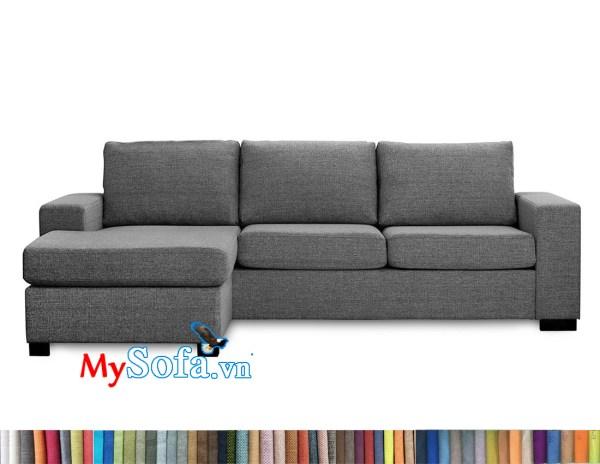 MyS-2001897 Mẫu ghế sofa nỉ góc đẹp
