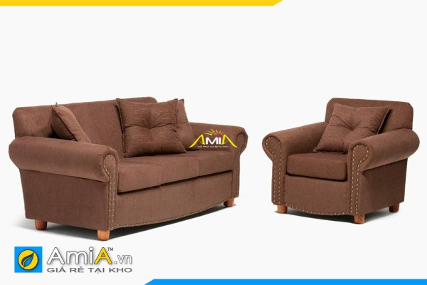 sofa vang ket hop ghe don tan co dien amia sfn20177