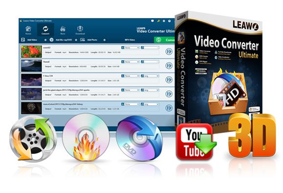 Leawo Video Converter Ultimate 25% Off(Win and Mac) Save