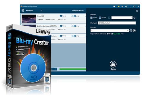leawo bluray creator box