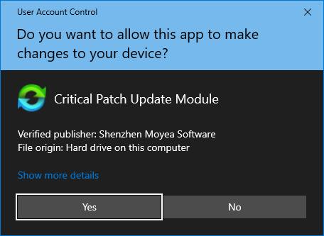 Critial Patch Update Module