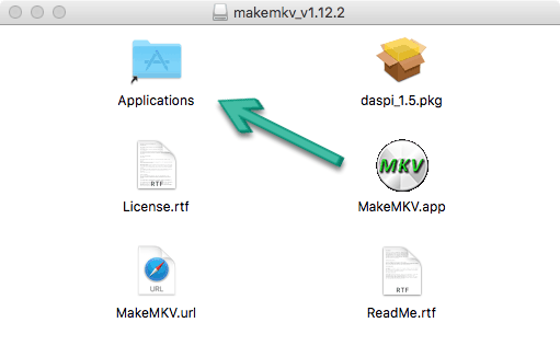 Install MakeMKV on Mac